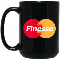 MasterCard Inspired Finesse Your Credit Card Mug