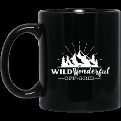 Wild Wonderful Off Grid Logo Mug