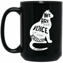 Vet Ranch Voice Of The Voiceless Cat Mug