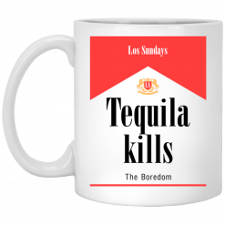 Tequila Kills Mug