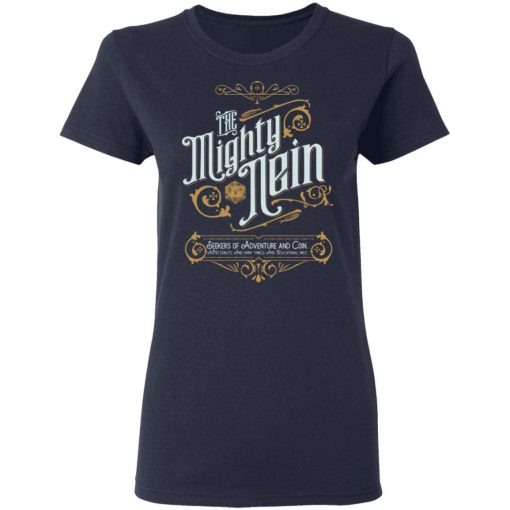 Critical Role The Mighty Nein T-Shirts, Hoodies, Long Sleeve
