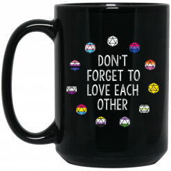 Critical Role Don't Forget to Love Each Other Mug