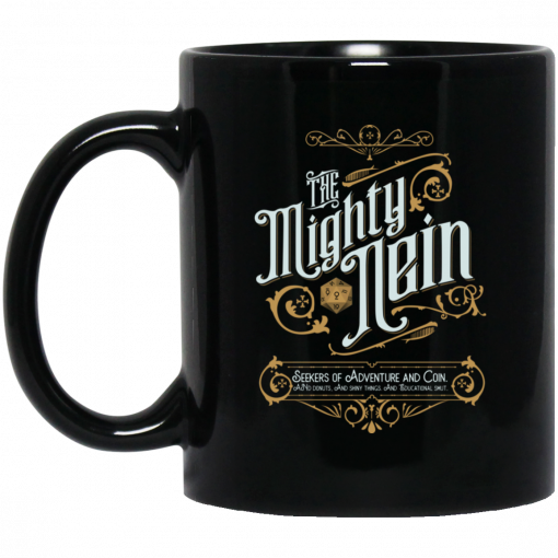 Critical Role The Mighty Nein Mug