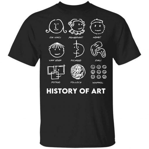 History of Art T-Shirts, Hoodies, Long Sleeve