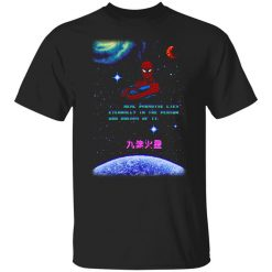 Spider Man Kill Your Heroes Be Gay Do Crime T-Shirt