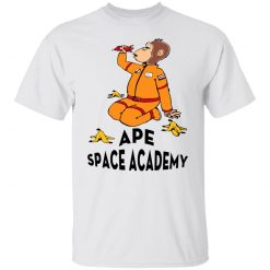 Ape Space Academy Monkey Astronaut T-Shirts, Hoodies, Long Sleeve