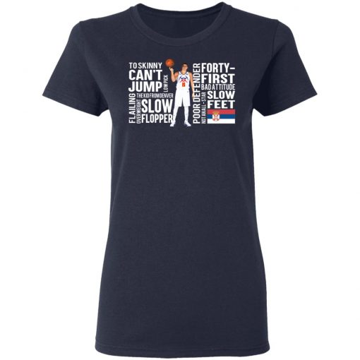 Too Skinny Can't Jump Low Pick The Kid From Denver T-Shirts, Hoodies, Long Sleeve
