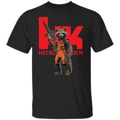 Rocket Raccoon HK Heckler and Koch T-Shirts, Hoodies, Long Sleeve