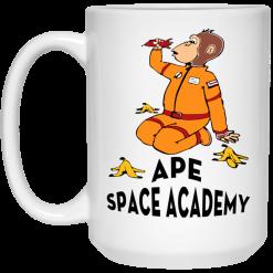 Ape Space Academy Monkey Astronaut Mug