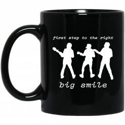 First Step To The Right Big Smile Vulfpeck Mug