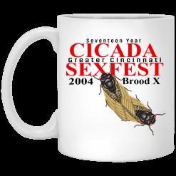 Seventeen Year Cicada Greater Cincinnati Sexfest 2004 Brood X Mug