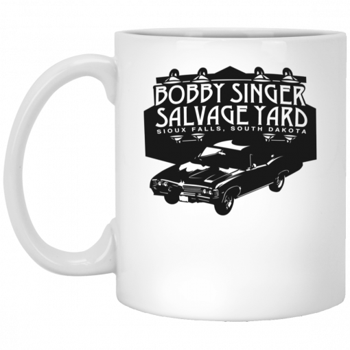 Bobby Singer Salvage Yard Sioux Falls South Dakota Mug