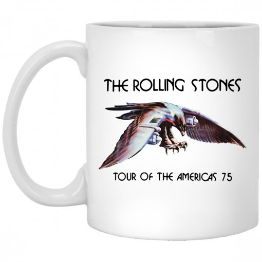 The Rolling Stones Tour Of The Americas 75 Poster Version Mug