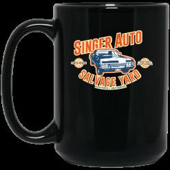 Singer Auto Salvage Yard Mug