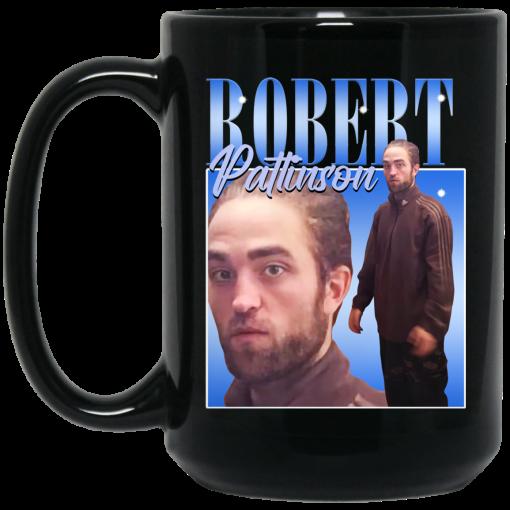 Robert Pattinson Standing Meme Mug