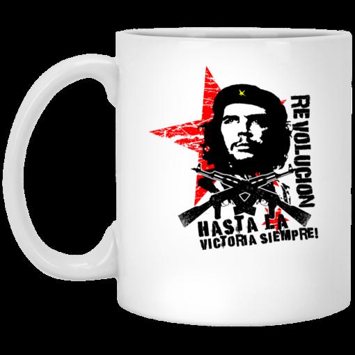Revolucion Hasta La Victoria Siempre Che Guevara Mug