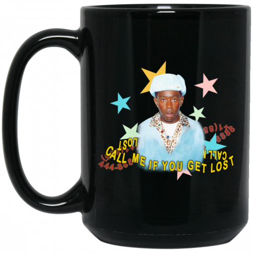 Call Me If You Get Lost Tyler Mug