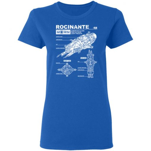 Rocinante Specs The Expanse T-Shirts, Hoodies, Long Sleeve