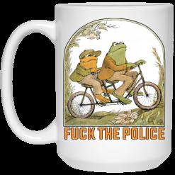 Frog And Toad: Fuck The Police Mug