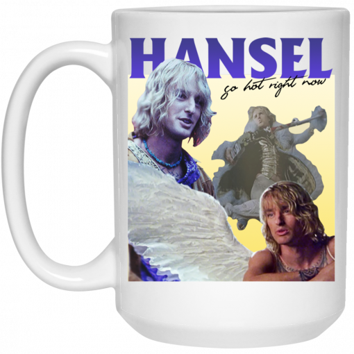 Zoolander: Hansel, So Hot Right Now Mug