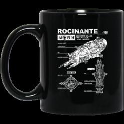 Rocinante Specs The Expanse Mug