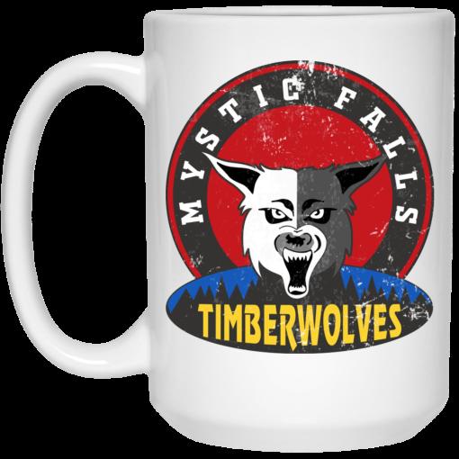 The Vampire Diaries Mystic Falls Timberwolves Mug