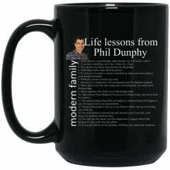 Modern Family Life Lessons From Phil Dunphy Mug