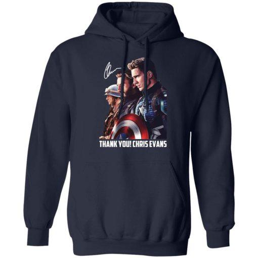 Captain America Thank You Chris Evans Signature T-Shirts, Hoodies, Long Sleeve