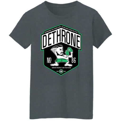 Dethrone Conor Mcgregor T-Shirts, Hoodies, Long Sleeve