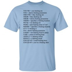You're You Fucking Are T-Shirts, Hoodies, Long Sleeve