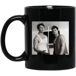 Drew Starkey and Rudy Pankow JJ Outer Banks Vintage Mug