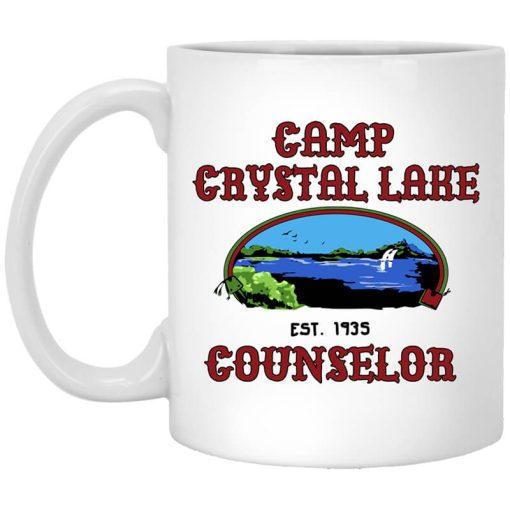 Friday The 13th Camp Crystal Lake Counselor Girls Ringer Mug