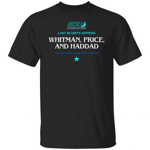 Running Man Whitman, Price, and Haddad T-Shirts, Hoodies, Long Sleeve