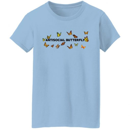 Antisocial Butterfly T-Shirts, Hoodies, Long Sleeve