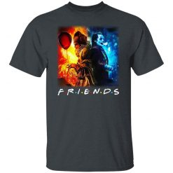 Joker And Pennywise Friends T-Shirts, Hoodies, Long Sleeve