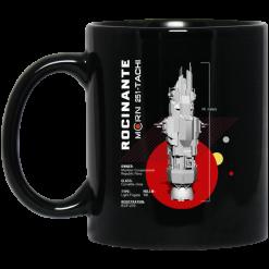 The Expanse Rocinante Ship Mug