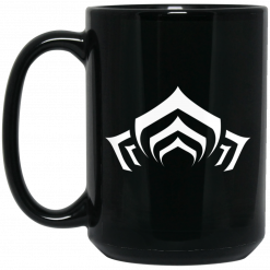 Warframe Lotus Symbol Mug