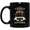 A Woman Who Listens To Alabama And Was Born In October Mug