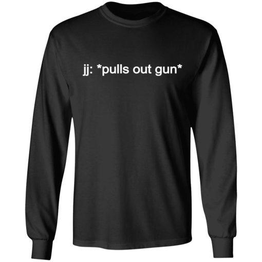 jj: *pulls out gun* Outer Banks Netflix T-Shirts, Hoodies, Long Sleeve