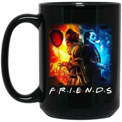 Joker And Pennywise Friends Mug