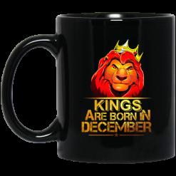 Lion King Are Born In December Mug