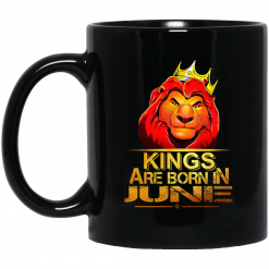 Lion King Are Born In June Mug