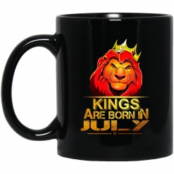 Lion King Are Born In July Mug