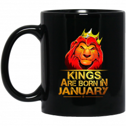 Lion King Are Born In January Mug