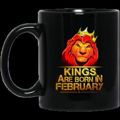 Lion King Are Born In February Mug