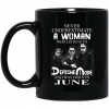 A Woman Who Listens To Depeche Mode And Was Born In March Mug