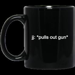 jj: *pulls out gun* Outer Banks Netflix Mug