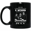 A Woman Who Listens To Depeche Mode And Was Born In January Mug