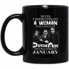 A Woman Who Listens To Depeche Mode And Was Born In July Mug