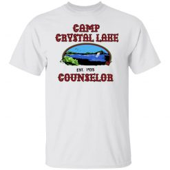 Friday The 13th Camp Crystal Lake Counselor Girls Ringer Shirts, Hoodies, Long Sleeve